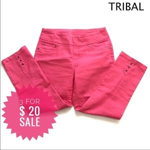 Tribal cropped troursers Sz 6